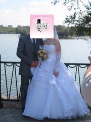 Свадебное платье - 17тыс.тг.