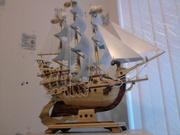 кораблик ручной работы