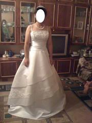 Счастливое свадебное платье на прокат