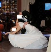 Свадебное платье цвета айвори,  фирма WHITE ONE 2012