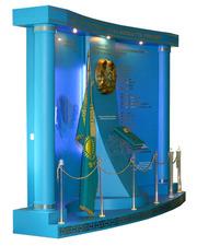 Объемные стенды с изображением госсимволов РК