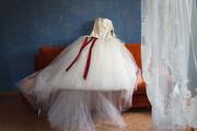Шикарное свадебное платье ручной работы (Аналог платья от Vera Wang)