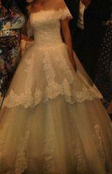 Шикарное свадебное платье Караганда