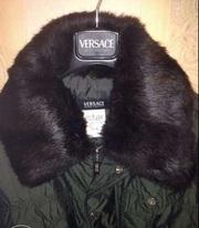 Брендовая мужская куртка Versace