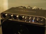 Продам профессиональную звуковую карту M-Audio Fast Track Ultra
