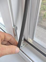 Замена уплотнителя (резины) на окне,  двери.