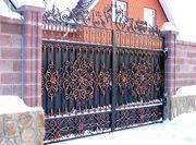 Долговечные Кованые Ворота под Ключ в Караганде!
