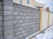 Строительство забора из блока
