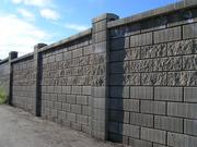 Строительство заборов из блоков