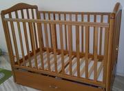 Детская кроватка c механизмом качания Papaloni-Джованни (Италия)